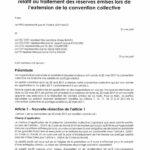 Avenant n°3 du 2 juillet 2018 relatif au traitement des réserves émises lors de l'extension de la convention collective