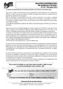Bulletin d'information des bureaux d'études n°139